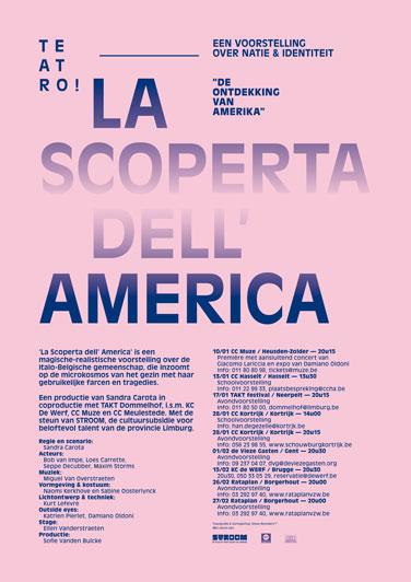 La Scoperta Dell' America_affiche